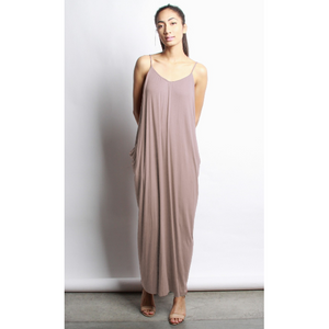 Rue Hobo Dress - Mocha