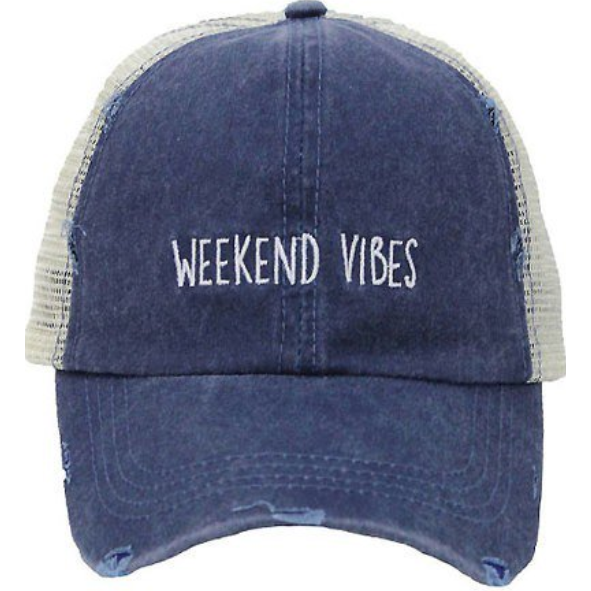 Weekend Vibes - Washed Denim