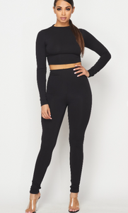 Peace of Mind Legging Pant Set
