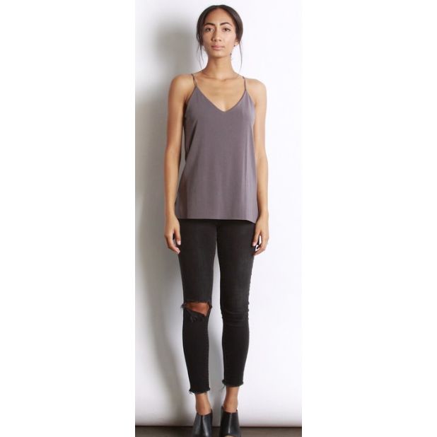 Dusty Plum Jamie Tank