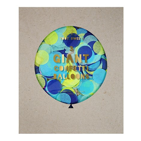 Blue Giant Confetti Balloon Kit