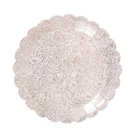Small Lace Plates
