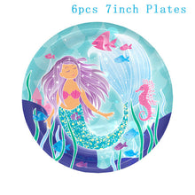Mermaid Party Tableware