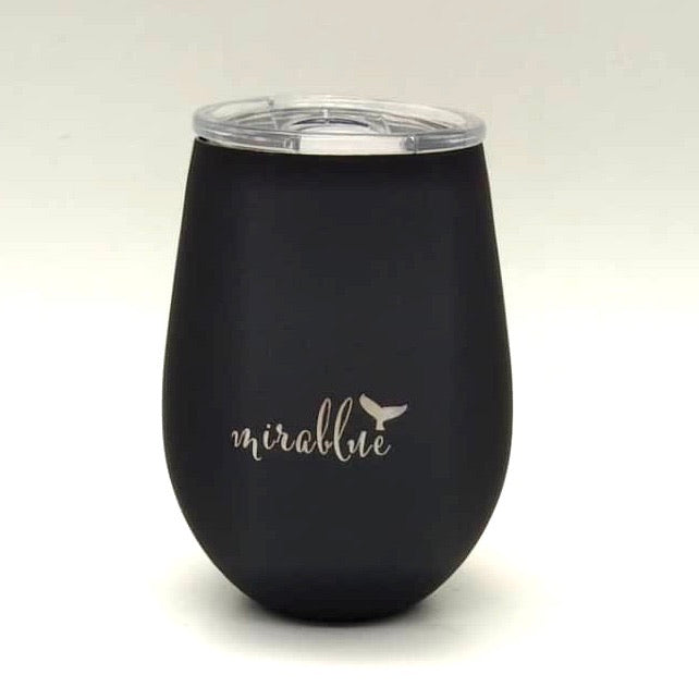 INSULATED TUMBLER- CHARCOAL 360ML