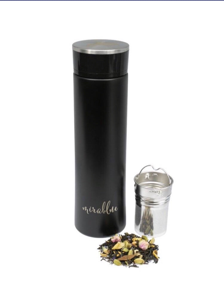 INFUSER WATER BOTTLE SET - EBONY