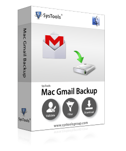 SysTools Mac Gmail Backup - 10 Account License