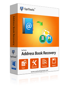SysTools Address Book Recovery - Personal License