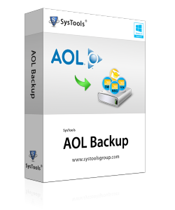 SysTools AOL Backup - Single Account License