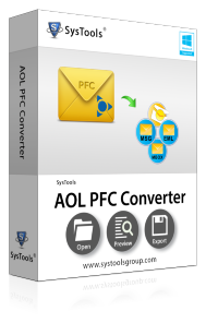 SysTools AOL PFC Converter - Business License