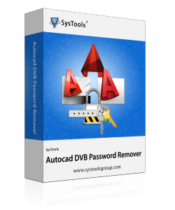 SysTools Autocad DVB Password Remover - Personal License