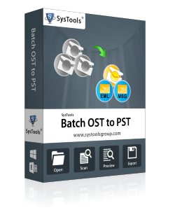SysTools Batch OST Converter - Business License
