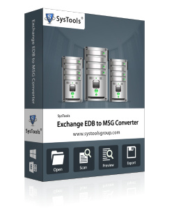 SysTools Exchange EDB to MSG Converter - Business License