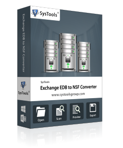 SysTools Exchange EDB to NSF Converter - Enterprise License