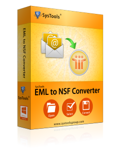 SysTools EML to NSF Converter - Personal License