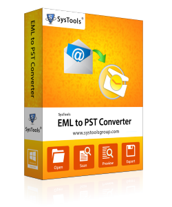 SysTools EML to PST Converter-Personal License