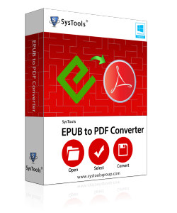 SysTools EPUB to PDF Converter - Personal License