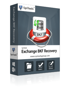 SysTools Exchange BKF Recovery - Enterprise License