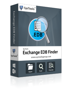 SysTools Exchange EDB Finder - Personal License