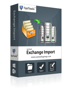 SysTools Exchange Import- 50 Mailbox License