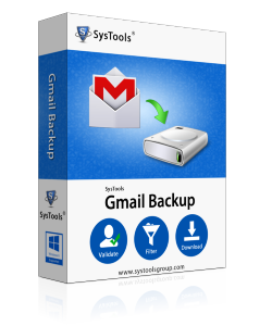 SysTools Gmail Backup - 50 Account License