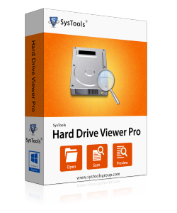 SysTools Hard Drive Data Viewer Pro - Personal License