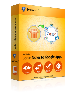 SysTools Lotus Notes to Google Apps Migrator - 25 User License