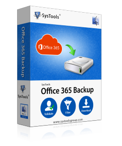 SysTools Mac Office 365 Backup - Single User License
