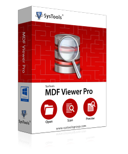 SysTools MDF Viewer Pro - Corporate License