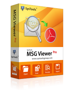SysTools MSG Viewer Pro - 25 User License
