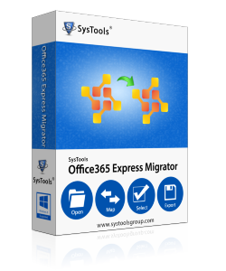 SysTools Office 365 to Office 365 Migrator- 500 User License