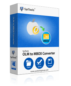SysTools OLM to MBOX Converter - Personal License