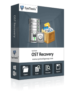 SysTools OST Recovery - Corporate License