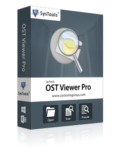 SysTools OST Viewer Pro - 25 User License