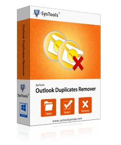 SysTools Outlook Duplicates Remover  - Personal License
