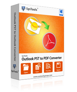 SysTools Outlook PST to PDF Converter-Business License