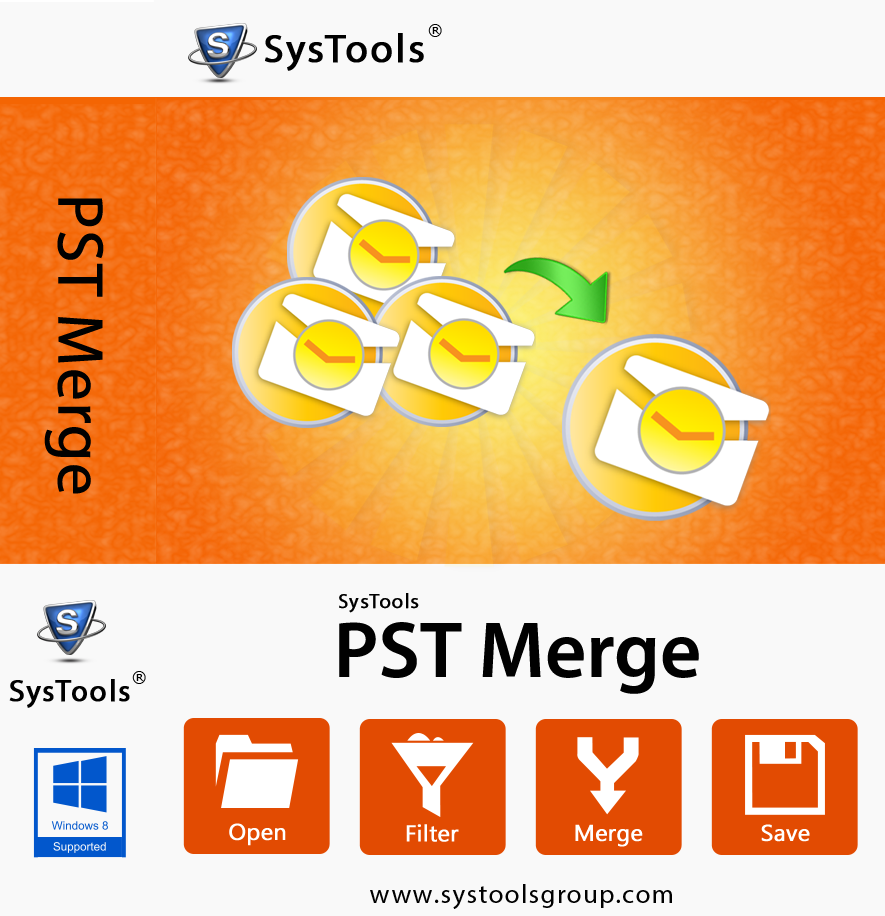 SysTools PST Merge-Personal License
