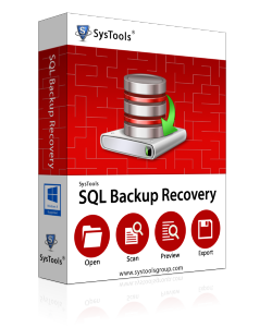 SysTools SQL Backup Recovery - Personal License