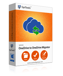 SysTools OneDrive Migrator - 500 Users