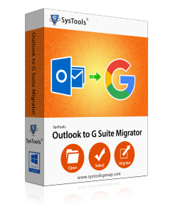 SysTools Outlook to G Suite Migrator - 500 Accounts