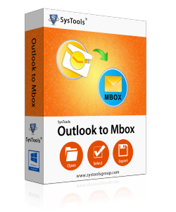 SysTools Outlook to MBOX Converter-Business License
