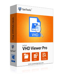 SysTools VHD Viewer Pro - Enterprise License