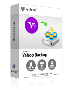 SysTools Yahoo Backup Tool - 25 Account License