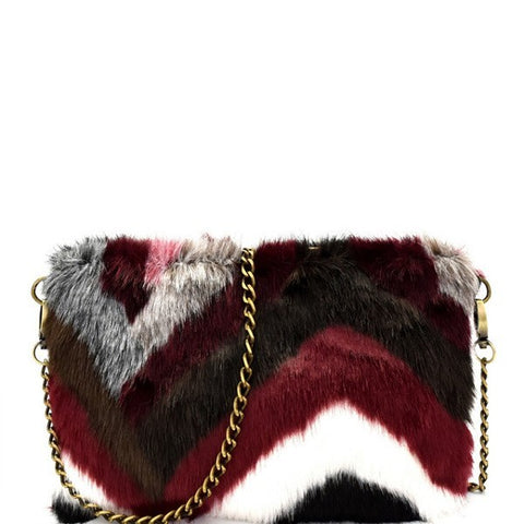 Tiana Shearling Bag - iNowacollections