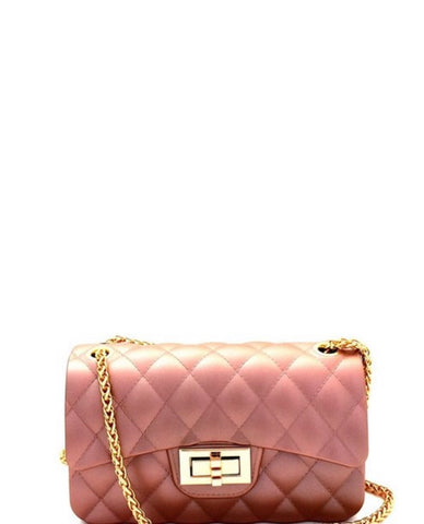 Jolie Mini Purse- Rose Gold