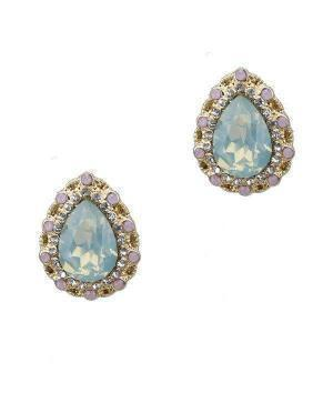 Grace Rhinestone Stud Earrings - iNowacollections