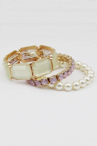 Gemstone Layering Bracelets - iNowacollections