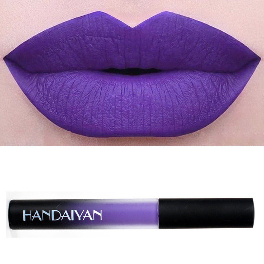 Dark Purple Liquid Matte Lipstick – Cellar of Purple