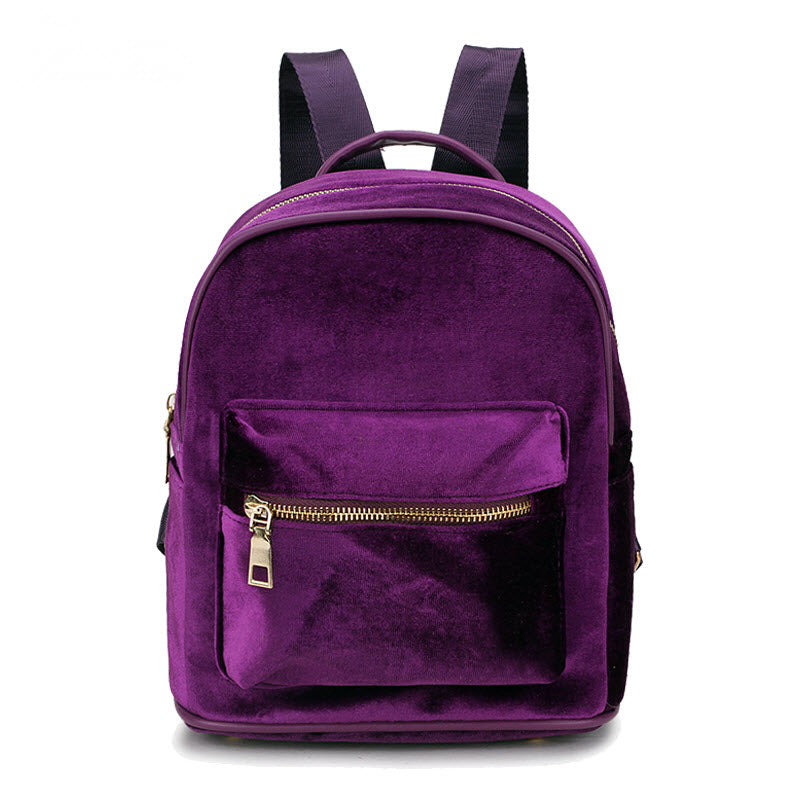 f9bee8ff15 Velour Mini Backpack – Cellar of Purple