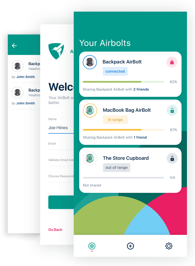 AirBolt: The Truly Smart Travel Lock