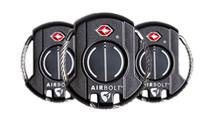 3 AirBolt Travel Sized Locks - Black